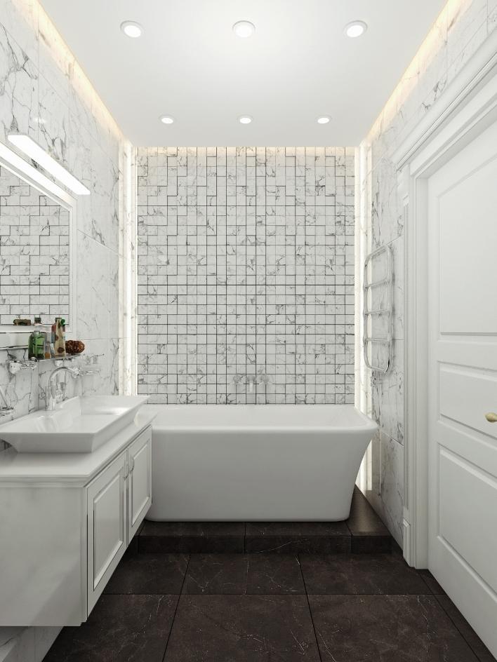 Заказать дизайн современной ванной комнаты. Интерьер ... ec653414a31fd